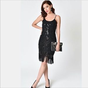 Unique Vintage Flapper Dress
